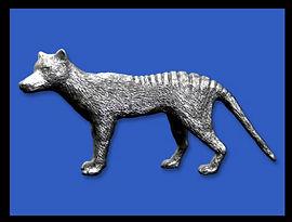 Custom Pewter Figurines Tasmanian Devil