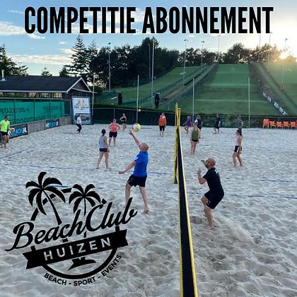 CompetitieAbonnement BeachClub Huizen