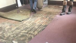 New Carpet for the RMSC