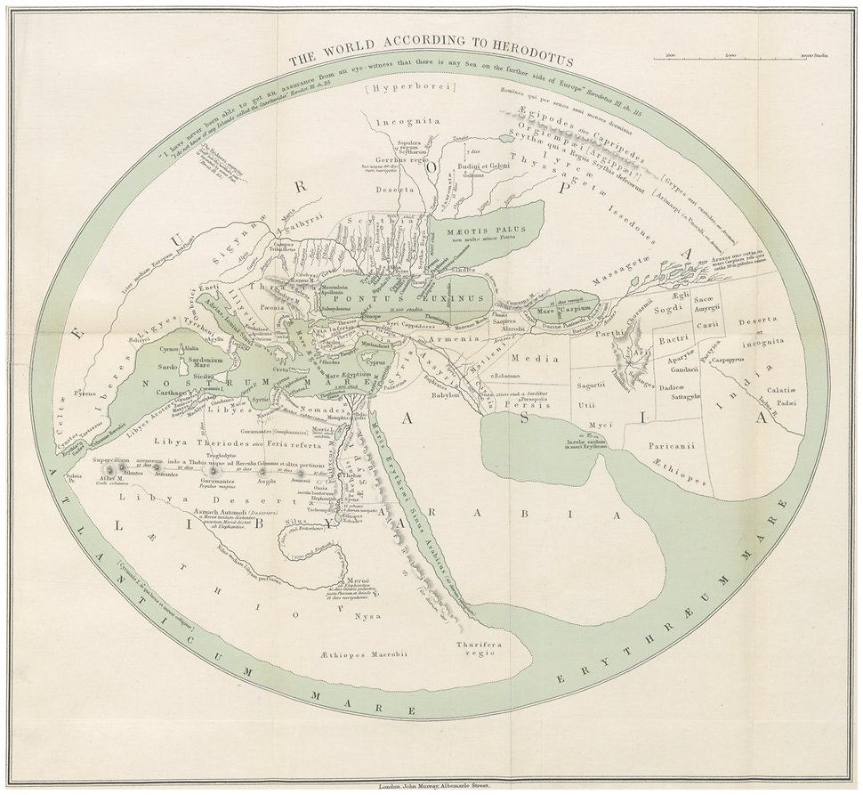 HERODOTUS1897_p2.387_THE_WORLD_ACCORDING