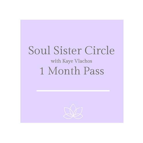 Soul Sister Circle 1 Month Pass