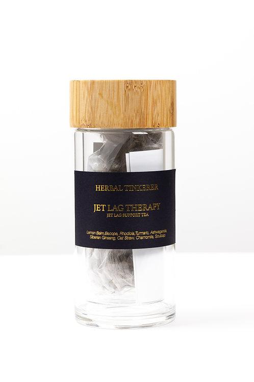JET LAG Support Travel Kit ( Glass bottle & Teas )