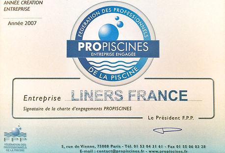 Liners France - Propiscine