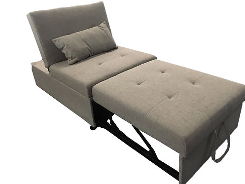 Grey Fabric One Seater Sofa Chair/Sofa Bed (Item NO.: EH642A)