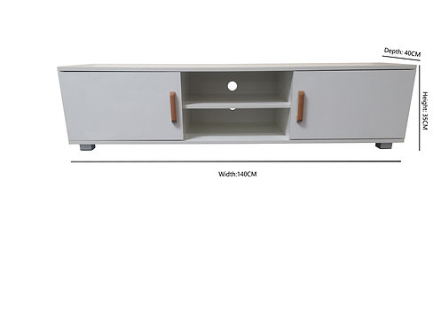 High Gloss White Colour TV Unit/ Cabinet /TV Stand