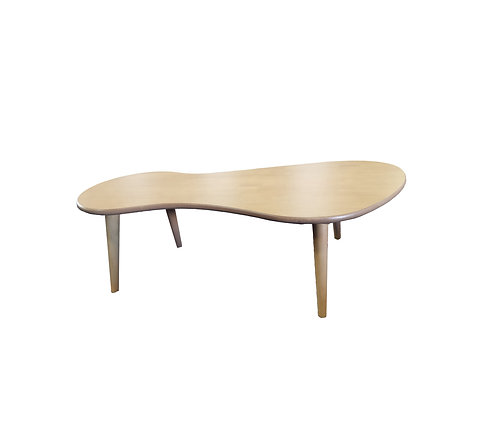 Unique Streamlined Design Beech Wood Colour Coffee Table