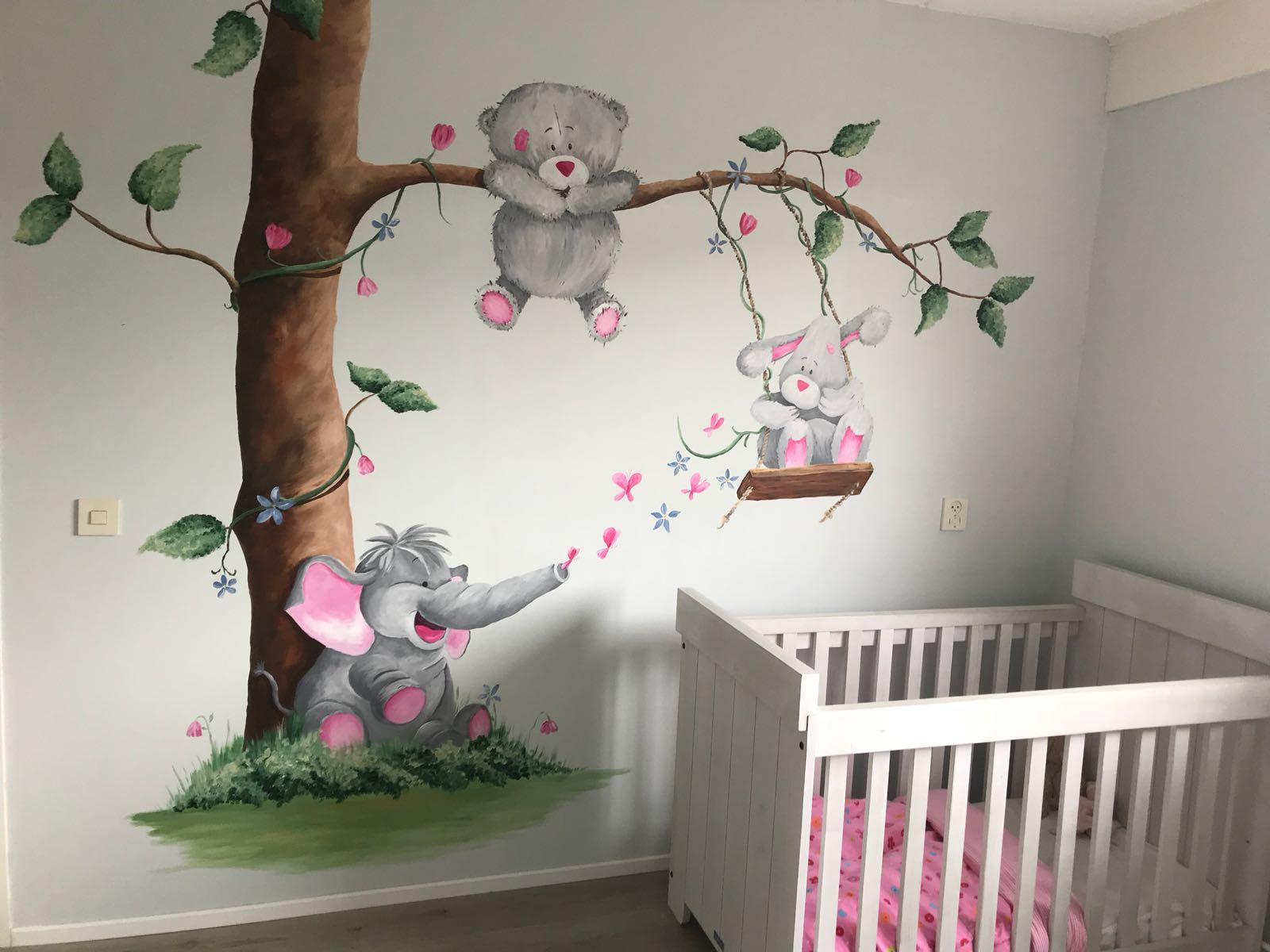 muurschildering lynn