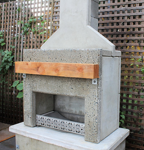 Contemporary Fireplace - Polished