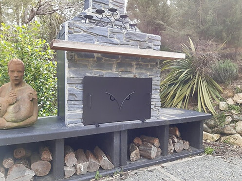 Morepork Fireplace Ember Guard