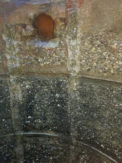 Beton nach Sandstrahlen