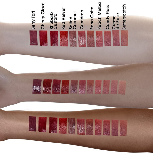 Handswatch Lip Brulee- The Beauty Crop
