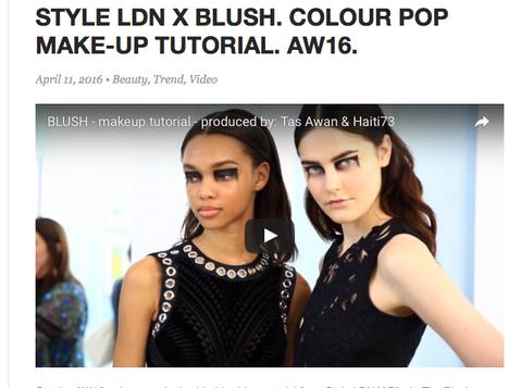 Blush video Colour Pop makeup tutorial Release