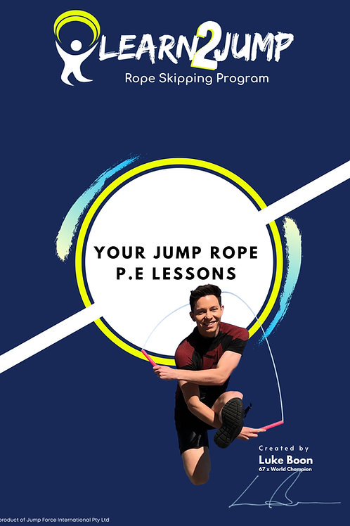 Learn2Jump Rope Skipping Program