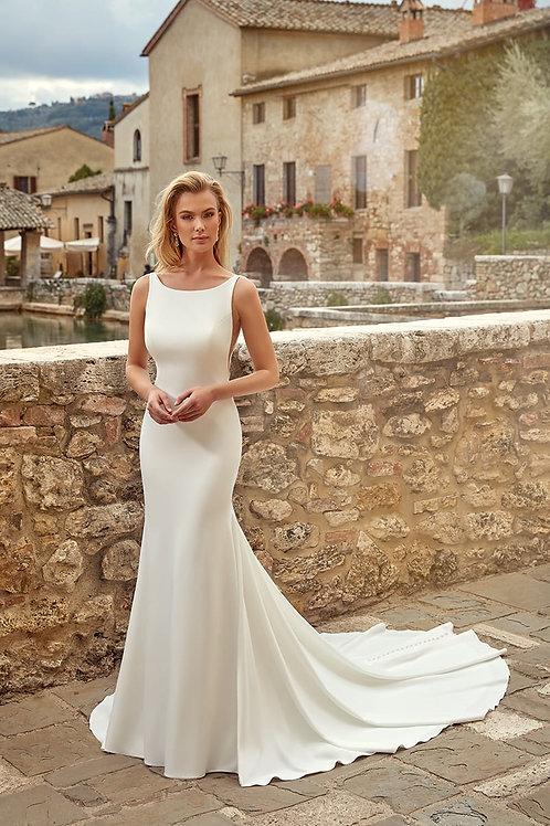 Melissa EK1357 Eddy K Fit & Flare Wedding Dress- To Order
