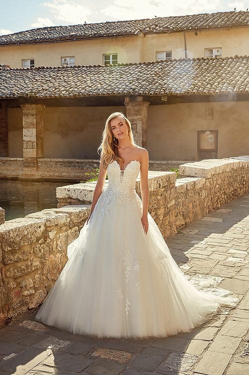 Tiana EK1369 Eddy K Ballgown Wedding Dress- To Order
