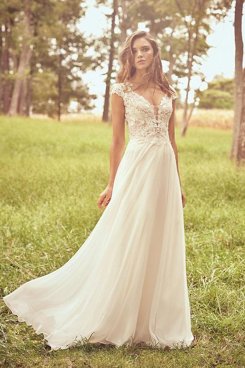 66077 Lillian West A-Line Wedding Dress- To Order