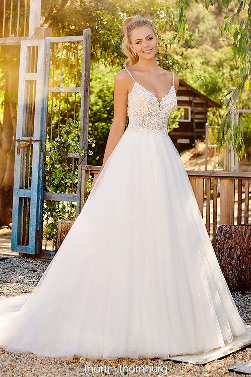 Payton 120231 Martin Thornburg Ballgown Wedding Dress- To Order