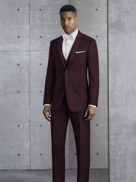 Sutton Burgundy Suit