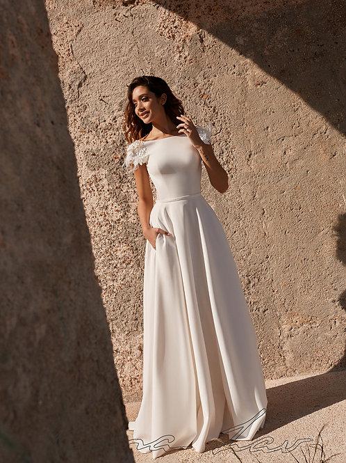 Auris Rima Lav A-Line Wedding Dress- To Order