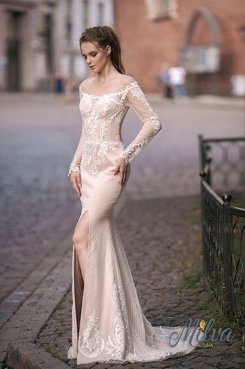Hannah Milva Fit & Flare Wedding Dress- To Order