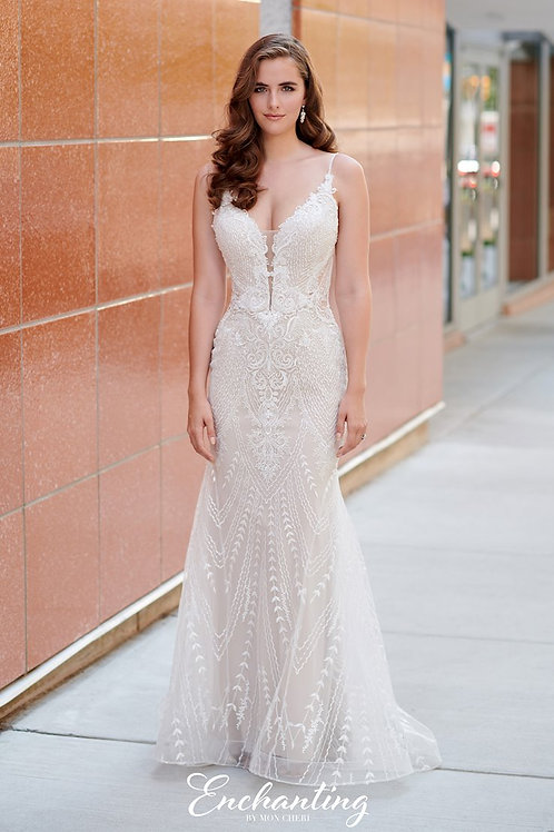120167 Enchanting Fit & Flare Wedding Dress- To Order
