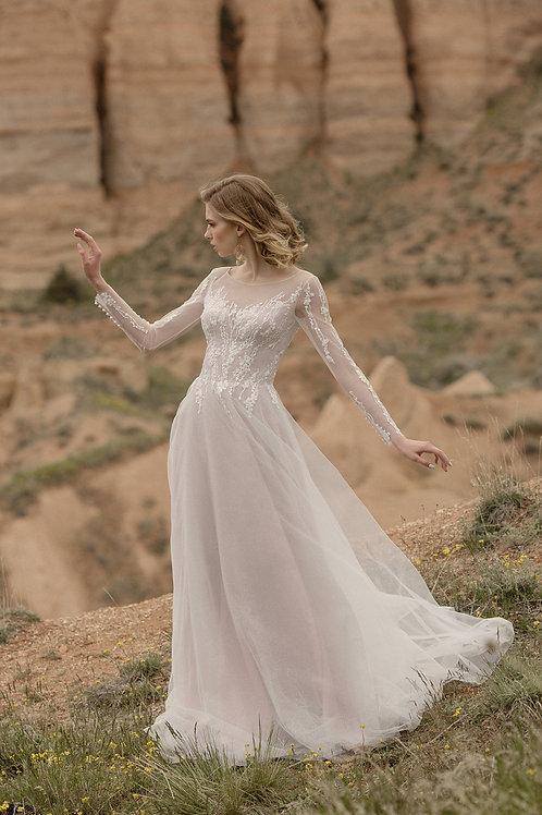 Crisbi Milva A-Line Wedding Dress- To Order