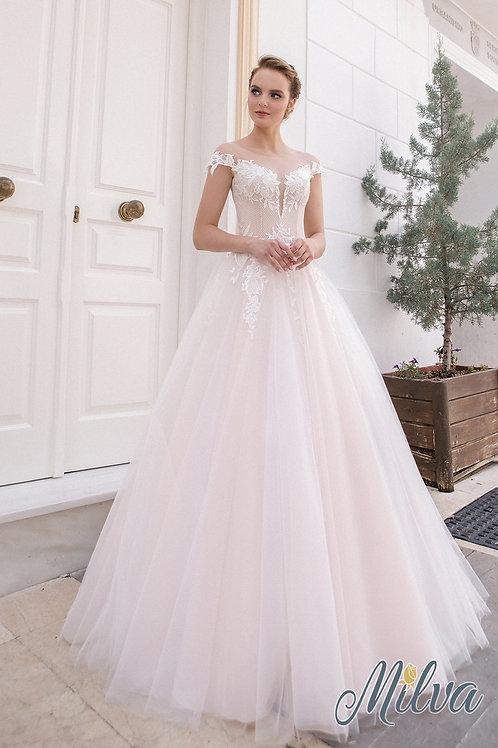 Agnia Milva A-Line Wedding Dress- To Order