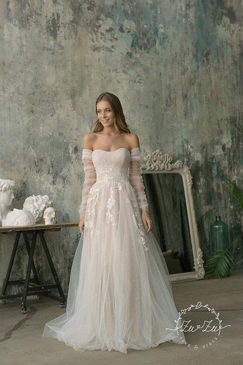Feira Zuzu A-Line Wedding Dress- To Order