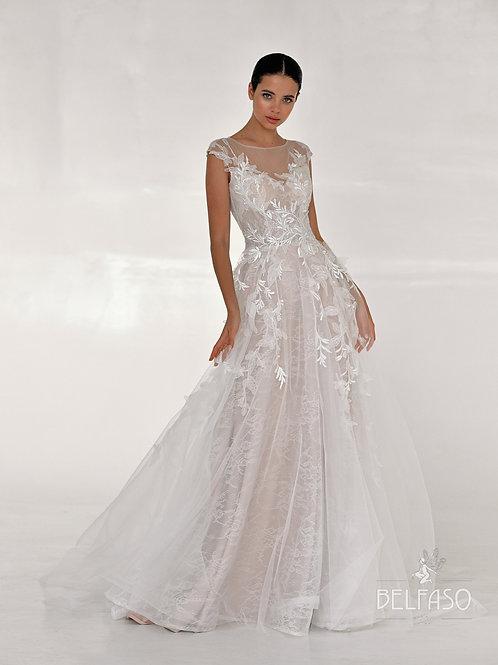Alfrea Belfaso  A-Line Wedding Dress- To Order