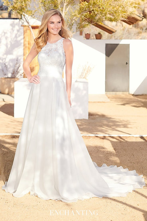220102 Enchanting A-line Wedding Dress- In Stock