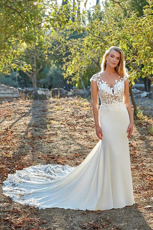 Lucy EK1378 Eddy K Fit & Flare Wedding Dress- To Order