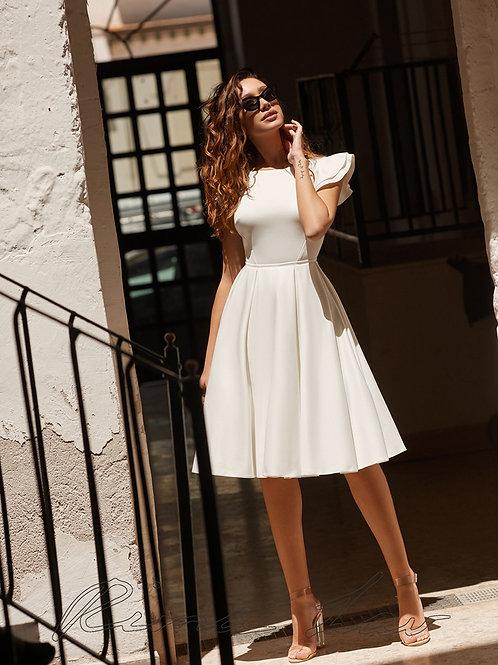 Betty Rima Lav Short A-Line Wedding Dress- To Order