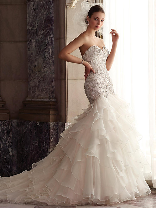 Dior 117277  Martin Thornburg Trumpet Wedding Dress-In Stock