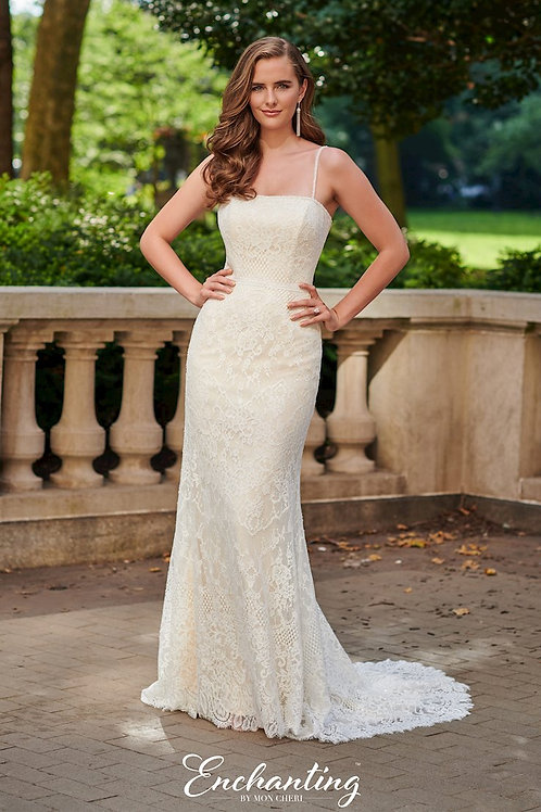 120178 Enchanting A-Line Wedding Dress- To Order
