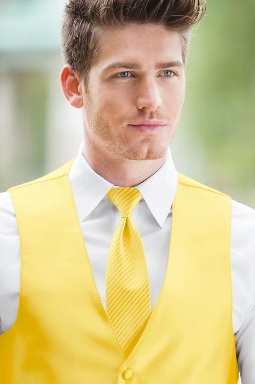 Striped Expressions Buttercup Windsor Tie