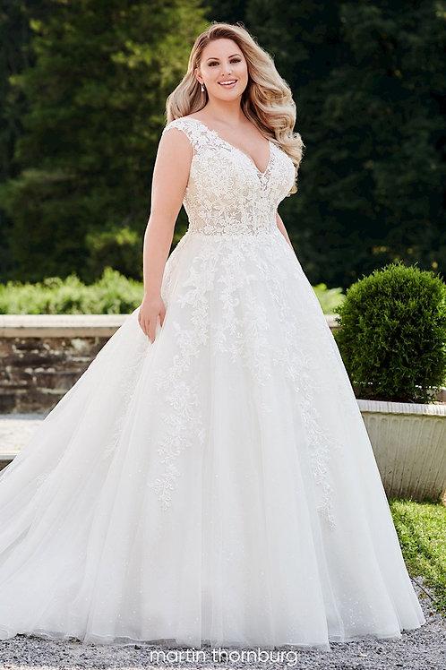 Marlee 120253W Martin Thornburg Ballgown Wedding Dress- To Order