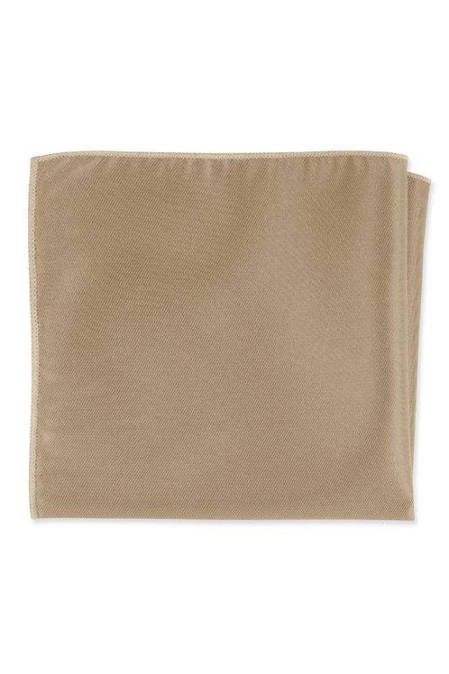 Solid Golden Pocket Square