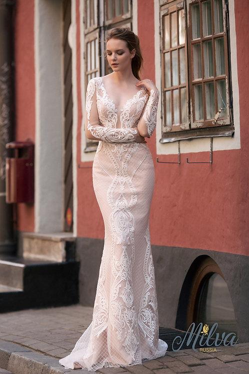 Dallicka Milva Fit & Flare Wedding Dress- To Order