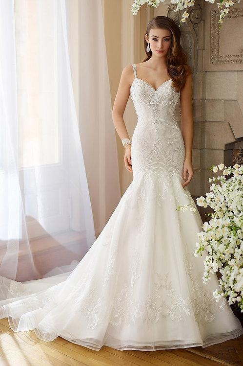 Bess 217208 Martin Thornburg Trumpet Wedding Dress- In Stock