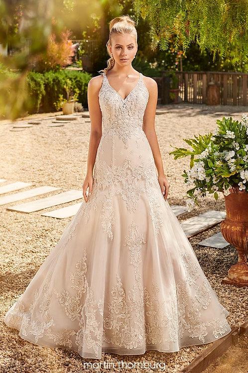 Jocelyn 120235 Martin Thornburg Fit & Flare Wedding Dress- To Order
