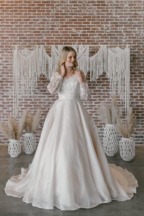 DR2035M Eddy K Ballgown Wedding Dress- To Order