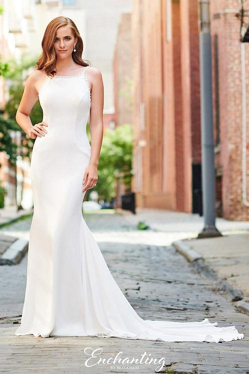 120163 Enchanting Trumpet Wedding Dress- To Order