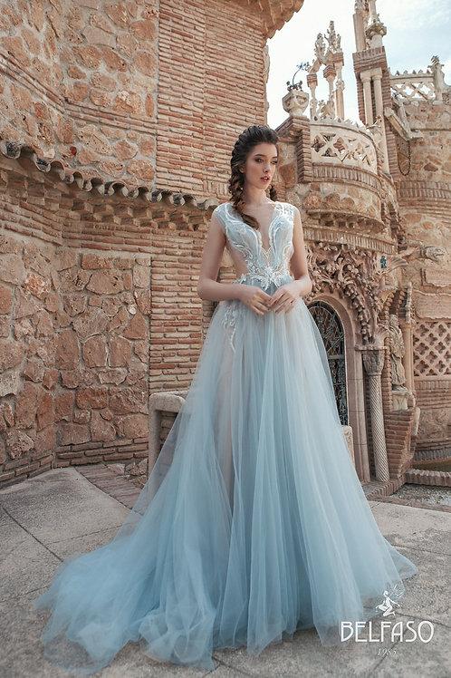 Diviana Belfaso A-Line Wedding Dress- To Order
