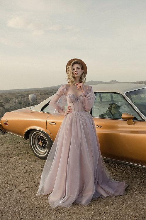 Simonette Milva A-Line Wedding Dress- To Order