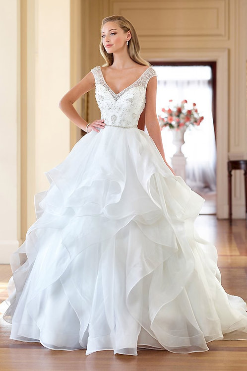 218178 Enchanting Ballgown Wedding Dress- In Stock