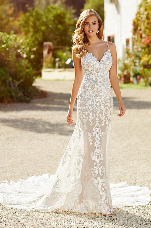 Brea 220267 Martin Thornburg Fit & Flare Wedding Dress- To Order