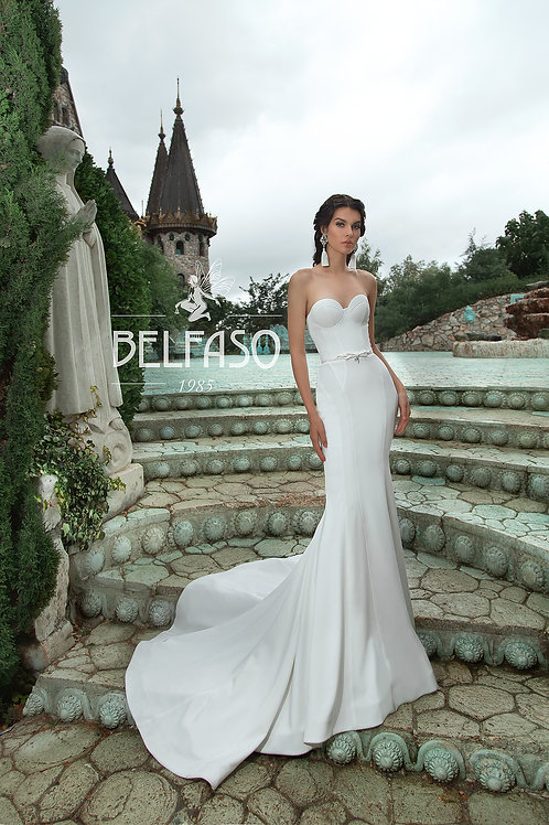 Camea Belfaso Fit & Flare Wedding Dress- To Order