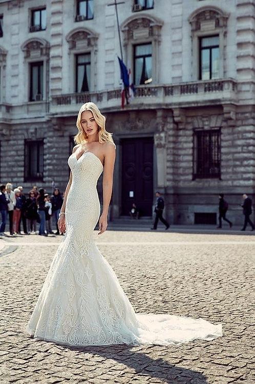 MD206 EddyK Mermaid Wedding Dress-In Stock