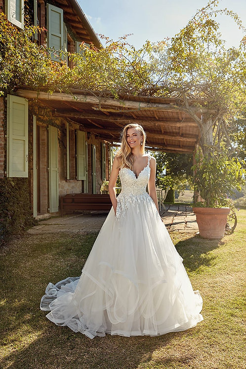 Kelly EK1351 Eddy K Ballgown Wedding Dress- To Order