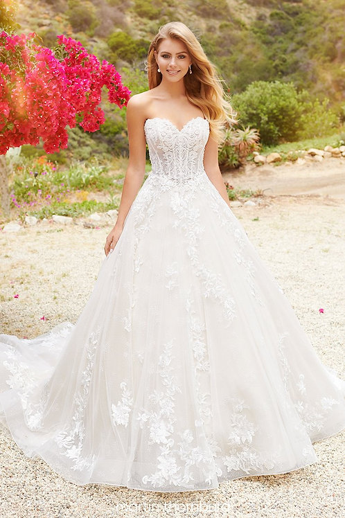 Rose 120246 Martin Thornburg Ballgown Wedding Dress- To Order